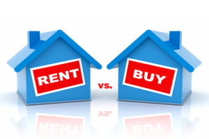 Buying vs Renting…Someone's Mortgage Is Getting Paid