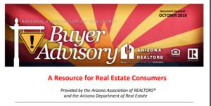 New AZ Home Buyer Advisory Guide