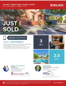 We Sold This Home At Top Dollar Fast! We Can Sell Yours Too! Vinsanto at 7818 W Cypress St