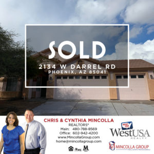 We sold 2134 W Darrel Rd in 4 days at top dollar! Homes Sold And For Sale In Your Area 85041 Zip