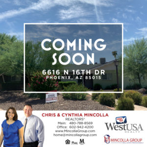 COMING SOON – 6616 N 16th Dr, Phoenix, AZ – MARYLAND GARDENS