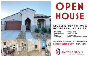 OPEN HOUSE – OCTOBER 19TH AND 20TH 11AM-3PM – ESTRELLA BY NEWLAND COMMUNITY